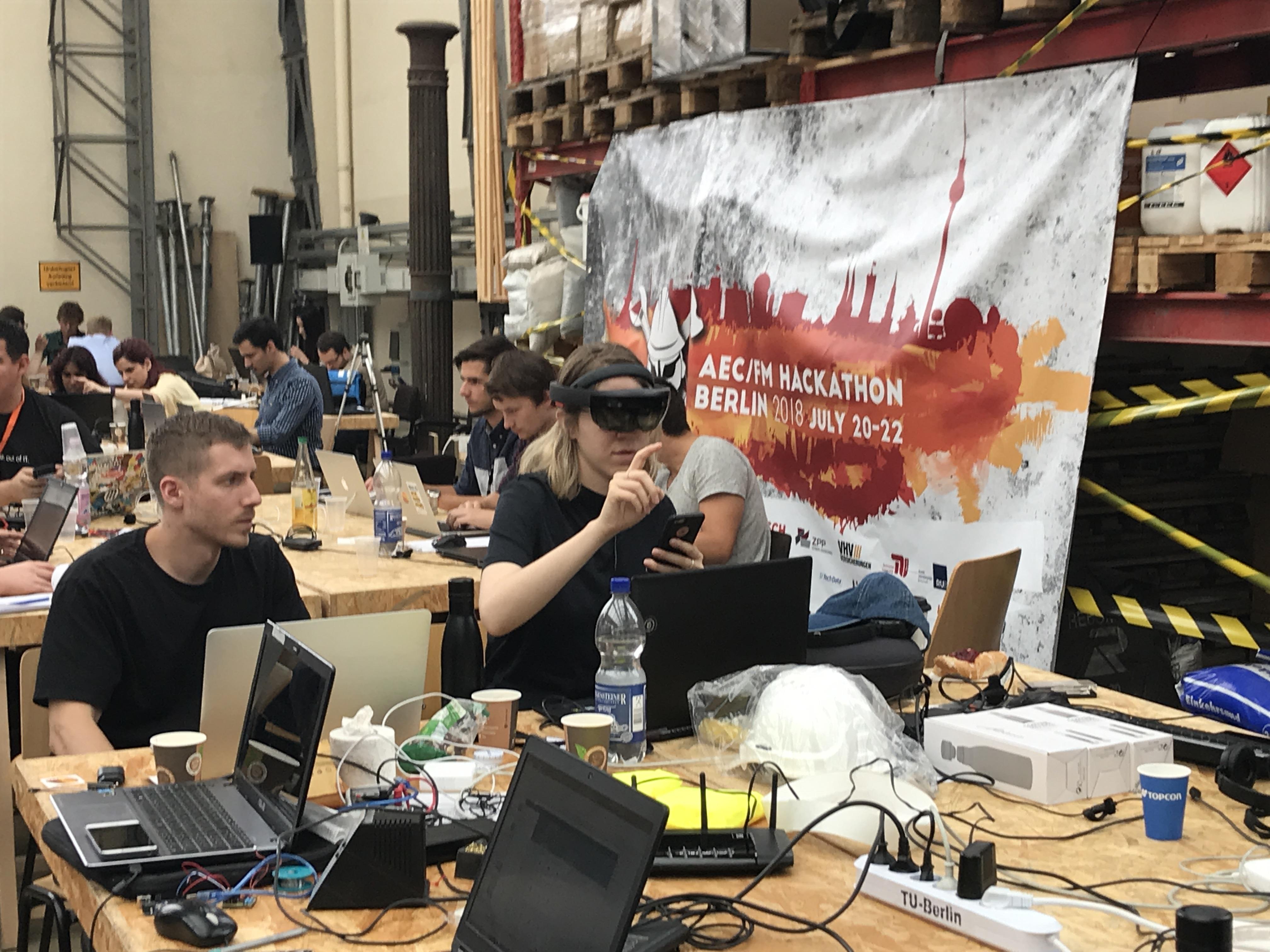 ISARC 2018 Hackathon: samen aan de ontwerptafel oplossingen ontwikkelen